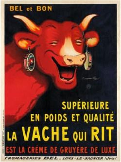 Publicité de la Vache Qui Rit